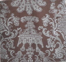 RUBELLI Aroldo Cotton velvet silver metallic brown new