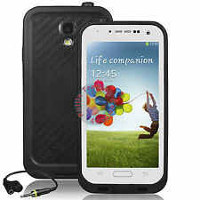 White Waterproof Shock proof Cover Case for Samsung Galaxy S4 IV I9500