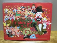 "1991 Ron Lee's  ""World of Clowns""  Signed hard cover book with original jacket"
