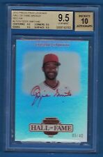 2012 Press Pass Legends Hall of Fame Bronze Red Ink #LGOS Ozzie Smith #05/40 AU