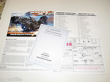 XRAY X12 LINK SPEC 1/12 PAN CAR INSTRUCTION MANUAL WITH PARTS LIST