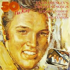 "12"" LP - Danny Mirror - 50x The King - Elvis Presley's Greatest Songs - B529"
