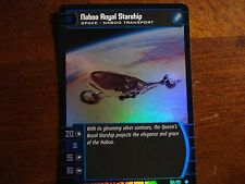 Star Wars TCG AOTC Naboo Royal Starship FOIL 154/180