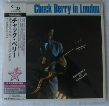 CHUCK BERRY - Chuck Berry In London + 5 JAPAN SHM MINI LP CD OBI NEU! UICY-94632