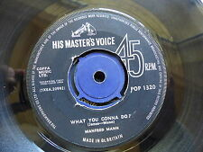 MANFRED MANN What you gonna do ? / Do wah diddy diddy POP 1320