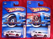 Hot Wheels 2006 Toyota AE-86 Corolla FTE  and Red 5S, 002, 2/38