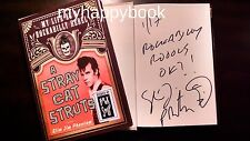 SIGNED A Stray Cat Struts By Slim Jim Phantom, Stray Cats, Autographed, new