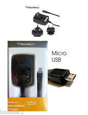 Cargador Blackberry Micro USB Original internacional