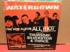 Waterdown / Aiden / With Honor PROMO CD Mint Condition