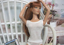"Fits 16"" Tyler Wentworth Tonner Doll - White Cami Undershirt - D1058"