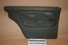 Mercedes W123 Türverkleidung 3. Serie Taxi hinten links dunkelolive 3005003