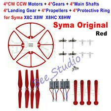 Red Crash Pack Kit motor Spare Parts For Syma X8C X8W X8HC X8HW RC Quadcopter
