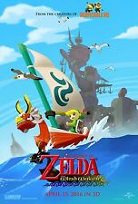 The Legend of Zelda The Wind Waker (2016) Movie Poster (24x36) - NEW