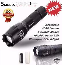 Tactical LED Flashlight G700 SkyWolfeye Zoom Military X800 Torch Super Bright US