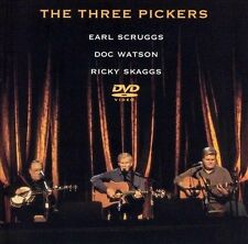 The Three Pickers [DVD] by Earl Scruggs (CD, Jul-2003, Rounder)