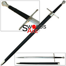 Cold Italian Long Sword 1060 Forged Steel Functional Battle Ready Medieval