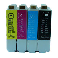 4x For Brother Compatible Ink Cartridge LC51 LC57 LC1000 DCP-130C DCP-135C