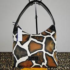 Dooney & Bourke Giraffe Print Nylon Hobo Bag