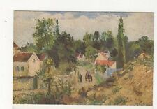 La Route d'Ennery by Camille Pissaro Vintage Art Postcard 607a