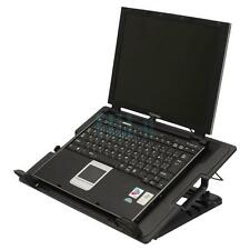 "Big Fan USB Notebook Laptop PC Tablets Cooling Pad 9-17"" Adjustable Stand Black"