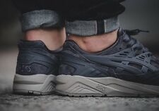 Asics Gel Kayano Trainer Dark Grey Suede UK 10 US 11 Lyte III 3 V 5 Kith Fieg OG