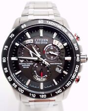 Citizen Eco Drive Perpetual Calendar Men's Stainless Steel Watch AT4008-51E