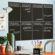 DIY Chalkboard Wall Stickers Removable Blackboard Decals Great Gift for Kids