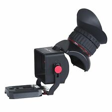 "Movo VF40 Universal 3X LCD Video Flip Viewfinder for DSLR Camera 3-3.2"" Screen"