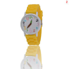 HX WOMENS MENS KIDS GIRLS BOYS LADIES GENEVA WRIST WATCH JELLY SILICONE WATCHES
