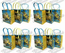 Universal Minions Party Favor Supplies Goody Loot Gift Bags [48ct]