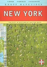 Knopf Mapguides: New York: The City in Section-by-Section Maps by Knopf Guides,
