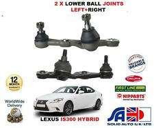 FOR LEXUS IS300 HYBRID 2013-  NEW RIGHT+LEFT HAND SIDE LOWER BOTTOM BALL JOINTS