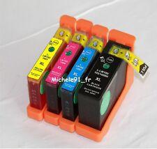 4 Cartouches d'encre compatibles LEXMARK Impact S305 ( Pack 100 XL )