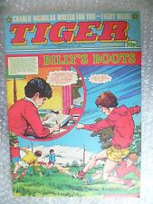Comic- Tiger ,15th Oct 1983- BILLY'S BOOTS