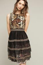 NWT Anthropologie Embroidered Vigne Dress by By Varun Bahl size M