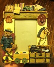 Child Kid Toy Teddy Bear Train Truck Horse Home Office Picture Photo Frame #D20