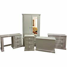 HAND MADE DEWSBURY FURNITURE 5 PIECE BEDROOM SET WHITE(ASSEMBLED)*SPECIAL OFFER*