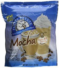 1 x New Caffe' D'Amore MOCHA Freeze FRAPPE COFFEE Drink  - FAST FREE SHIPPING!