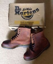RARE 90's vintage Dr Martens Ranger Boots Air Cushioned Brown Size 8 NEW