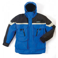 **NEW CLAM ICE ARMOR EDGE COLD WEATHER PARKA BLUE MEDIUM 9668