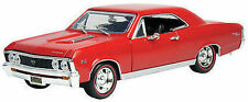 1:18 Motormax - 1967 Chevelle SS 396 red