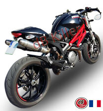 POT D'ECHAPPEMENT SILENCIEUX GPR DEEPTONE INOX DUCATI MONSTER 796 10/14