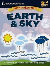 Earth & Sky: A Workbook of Science Facts and Math Practice by Education.com...