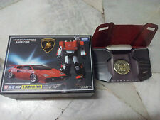 Transformers Masterpiece MP-12 Sideswipe Lambor with Coin Takara MISB