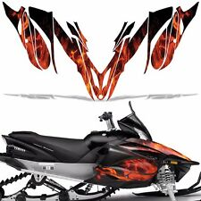 Yamaha APEX Decal Wrap Graphic Kit RTX GT MTX LTX Sled Snowmobile 12-16 ICE ORNG