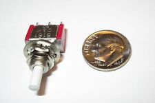 PUSH-ON, PUSH-OFF MINI PUSH BUTTON SWITCH  C&K SPDT  ON-ON  NOS