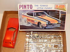 "Vintage Johan 1972 Ford Pinto ""Crazy Horse"" Funny Car Model Kit"