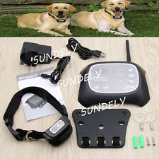 Brand New Wireless Pet Fence Containment 1 Dog System Invisible Waterproof UK