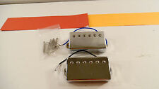COOL Gibson Epiphone Humbucker Pickup Set Les Paul Special Chrome Covered