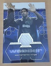 2002-03 Finest #138  JSY /999 Chris WEBBER